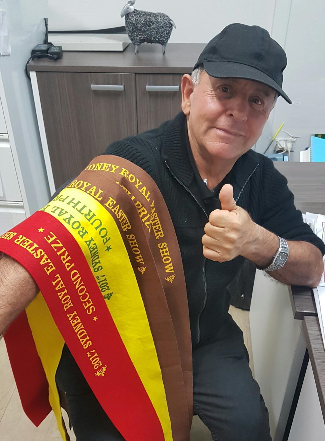 2017 Royal Easter Show Dad